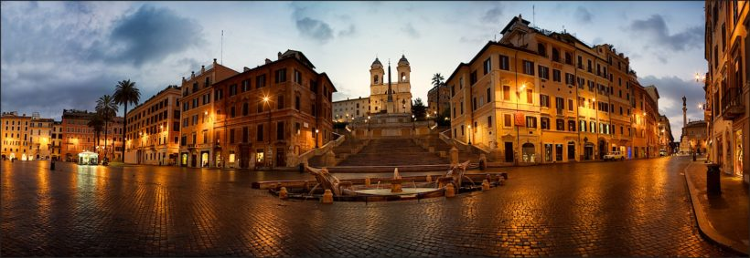 Visita guidata Roma al tramonto