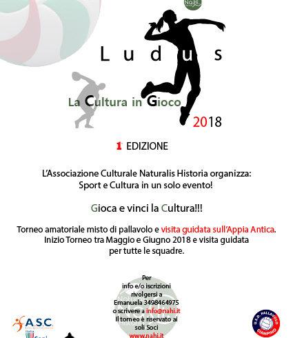 La Cultura in Gioco prima edizione Ludus 2018